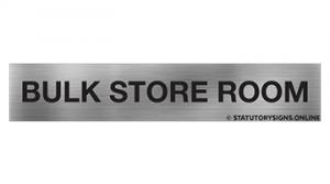 BULK STORE ROOM