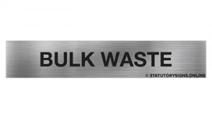 BULK WASTE
