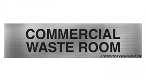 COMMERCIAL WASTE ROOM
