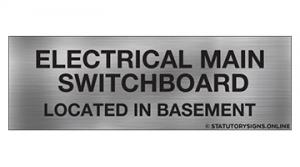 ELECTRICAL MAIN SWITCHBOARD LOC-B