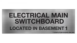 ELECTRICAL MAIN SWITCHBOARD LOC-B1