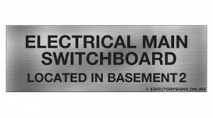 ELECTRICAL MAIN SWITCHBOARD LOC-B2