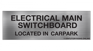 ELECTRICAL MAIN SWITCHBOARD LOC-CARPARK