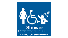 FEMALE DISABLED SHOWER