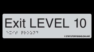 EXIT LEVEL 10