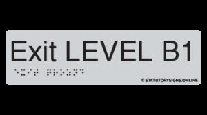EXIT LEVEL BASEMENT 1