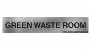 GREEN WASTE ROOM