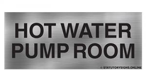 HOT WATER PUMP ROOM