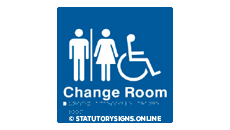 MALE/FEMALE DISABLED CHANGE ROOM