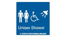 UNISEX DISABLED SHOWER