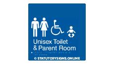 UNISEX TOILET & PARENT ROOM