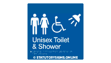 UNISEX DISABLED TOILET AND SHOWER