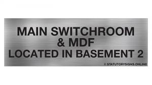 MAIN SWITCHROOM & MDF LOC-B2