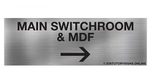 MAIN SWITCHROOM & MDF RA