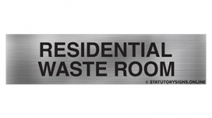 RESIDENTIAL WASTE ROOM