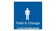 TOILET & CHANGE